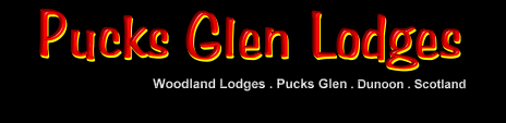 Pucks Glen Lodges are two beautifully presented luxury lodges on a site of 18, located on the edge of the Argyll Forest Park